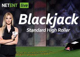 Live Blackjack Standard High Roller