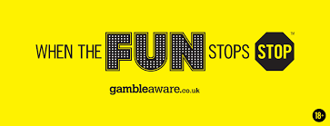 Helpline Gamble Aware stran